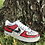 Thumbnail: Custom Red Cartoon Nike Air Force 1's