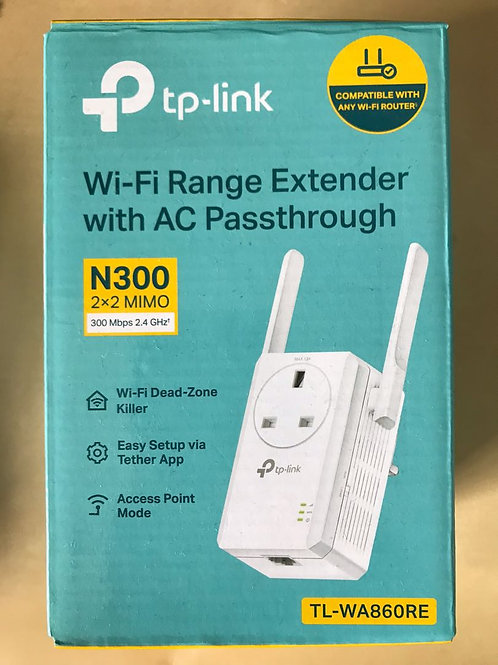 WI-FI RANGE EXTENDER WITH AC PASSTHROUGH