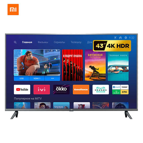 "XIAOMI 43"" - 4k -UHD - Android - Smart T.V"