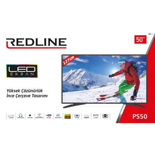 """50"""" REDLINE Full HD - Android - Smart T.V."""