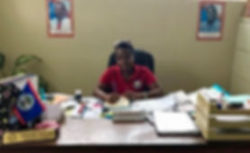 BROOKE RAMOS / GLOBAL AID CONSULTANTS Michelle Murray Gordon is the principal of St. Matthew's Government School in the village of St. Matthews, located outside of Belmopan, Belize.