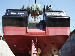 Stern of a fishing boat