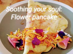 Fresh Flower Pancake