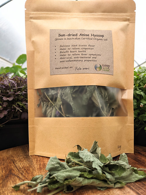 Tea: Sun-dried Anise Hyssop Tea