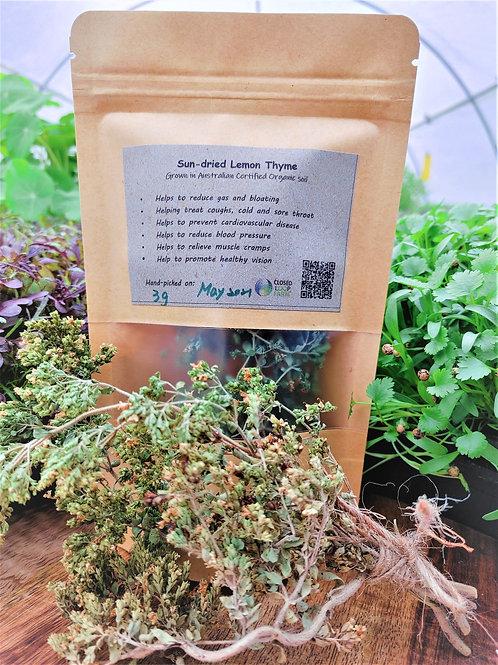 Tea: Sun-dried Lemon Thyme