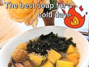 Pumpkin Seaweed Soup