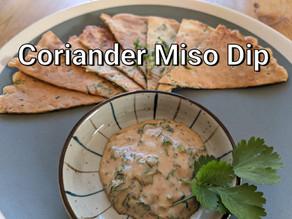 Coriander Miso Dip