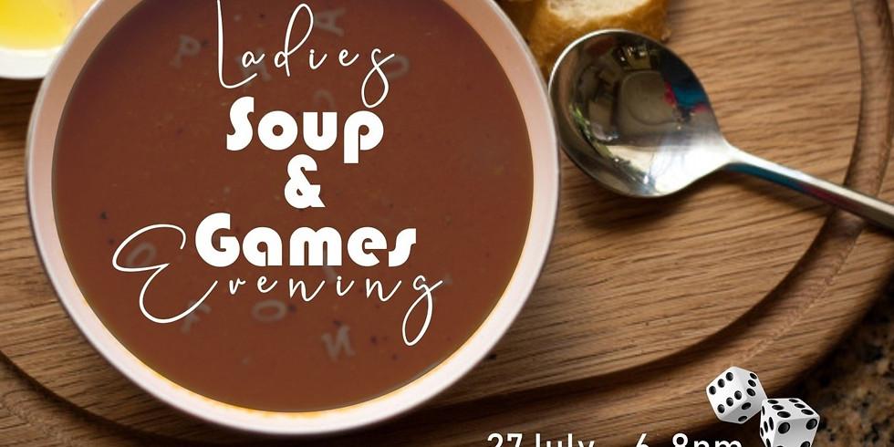 "Ladies ""Soup & Games"" Evening"