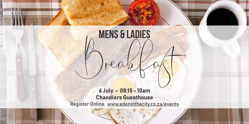 Mens & Ladies Breakfast
