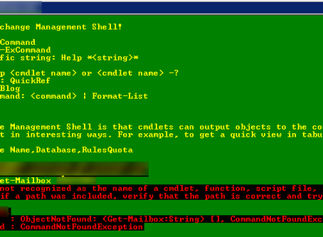 Missing PowerShell Cmdlet