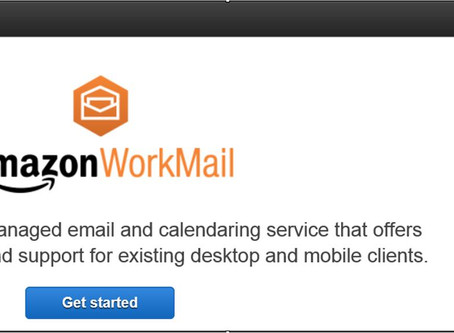 Amazon WorkMail - Admin Notes