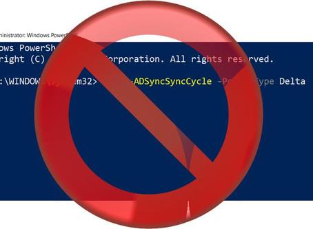 "Invoke AADC (""DirSync"") from PowerShell"