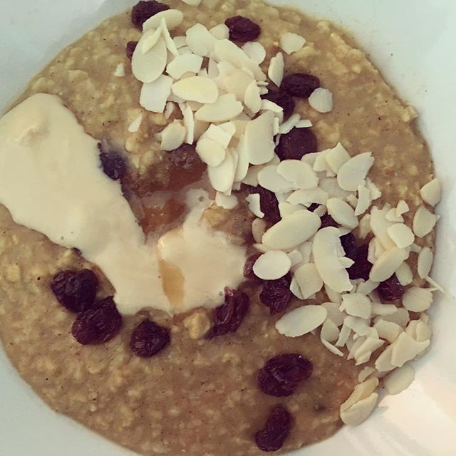 Tumeric and Ginger Spiced Oats