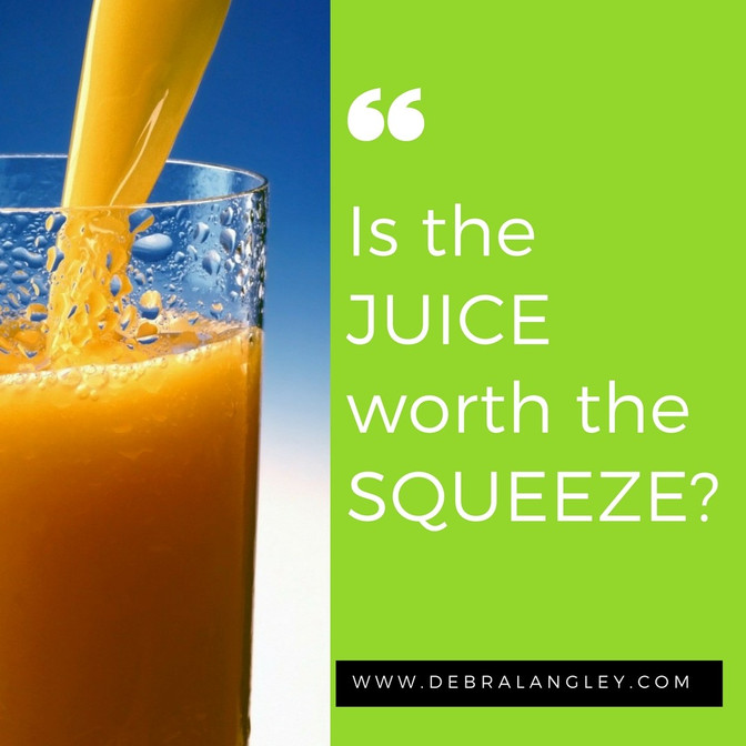 Is the JUICE worth the SQUEEZE ?