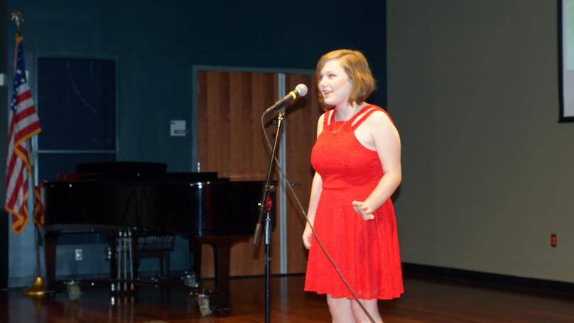 2018 OYA Performer Rebecca Anne Schledwi