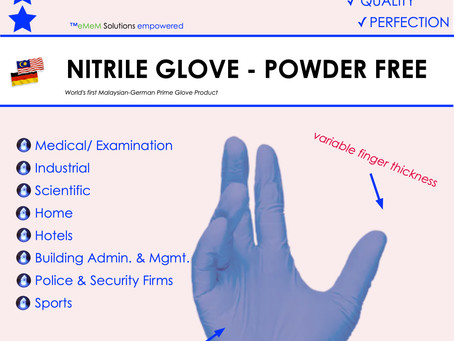 Secure Guaranteed Nitrile Glove Production Now !