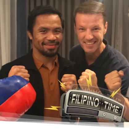 Senator and World Champion Manny Pacquiao