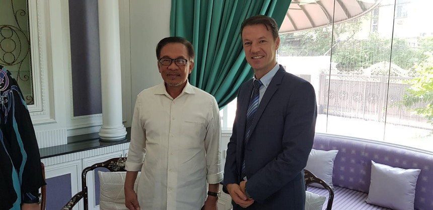 Anwar Ibrahim- Opposition leader in Malaysia