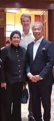 TS Muhyiddin Yassin-Malaysia's Prime Minister and spouse