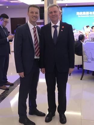 Freidrich Stift - Austrian Ambassador in China