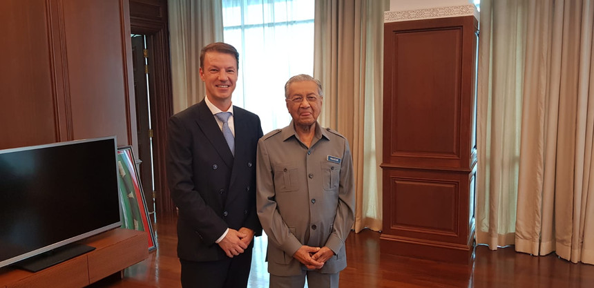 Tun Dr Mahathir Mohamad- Malaysia's former Prime Minister