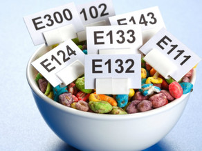 Les additifs alimentaires