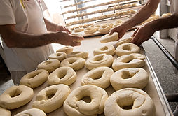 Het maken van Bagels