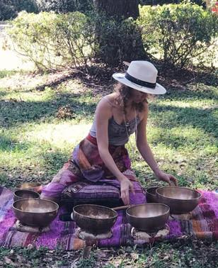 Bowls in the Garden