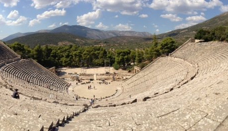 Epidaurus: ancient Greek theater and acoustic marvel