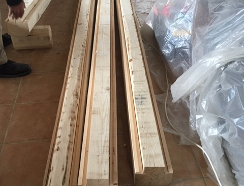 Custom cutting the wood.JPG