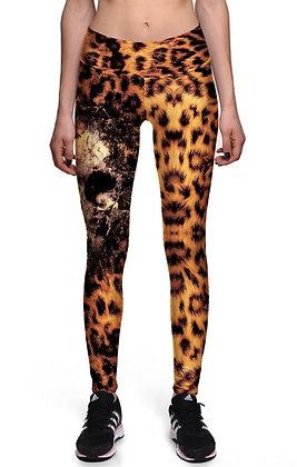 Leggins Mod. Leopardo Skull