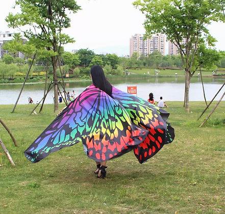 Alas mariposa happy rainbow