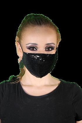 Cubrebocas doble capa + 3 filtros PM 2.5 - Mod. Tap glamour