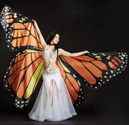 Alas mariposa monárca