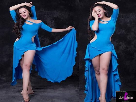 Modelo Sirena vestido completo
