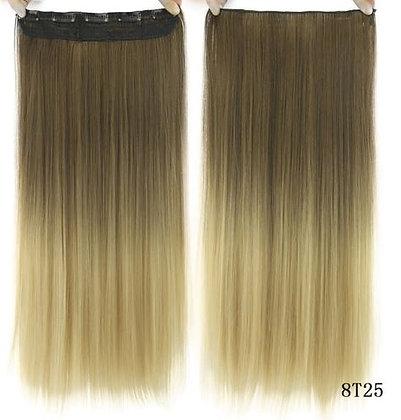"""Extensión de cabello 22"""" Rubio con Balayage 613"""