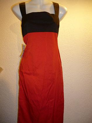 Vestido Rojo y Negro Zara Talla L