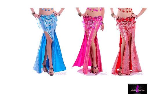 Falda Metalic Varios Colores