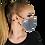 Thumbnail: Cubrebocas doble capa + 3 filtros PM 2.5 - Mod. Silver Foxy