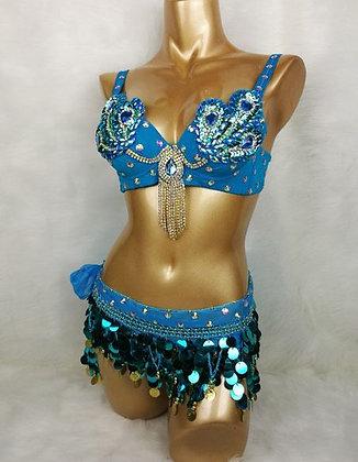 Mod. Samba set 2 pz azul turquesa