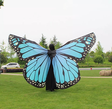 Alas mariposa Aquamarine