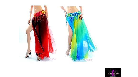 Falda Gradiante Varios Colores