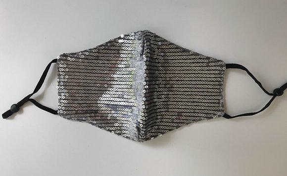 Cubrebocas doble capa + 3 filtros PM 2.5 - Mod. Silver Foxy