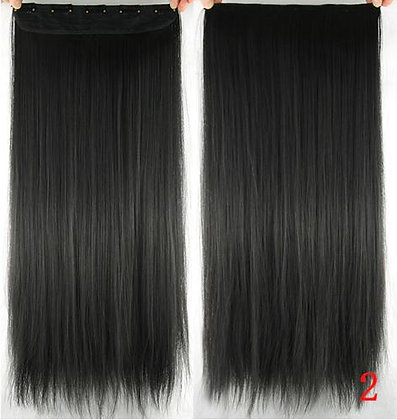 """Extensión de cabello 22"""" Castaño Obscuro#2"""