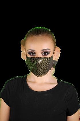 Cubrebocas doble capa + 3 filtros PM 2.5 - Mod. Blondie