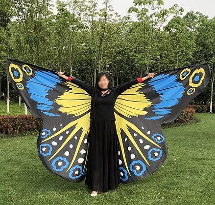 Alas mariposa Morpho