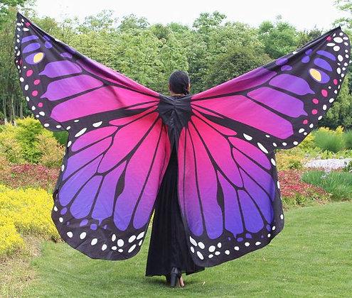 Alas mariposa Femme