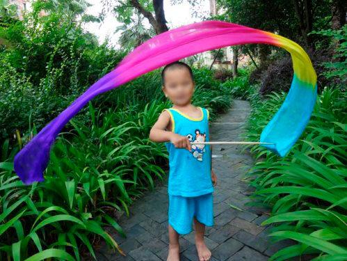 Listón de Seda para Niña Modelo Girly 1.80x30 cm