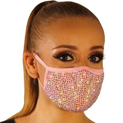 Cubrebocas doble capa + 3 filtros PM 2.5 - Mod. Baby Girl