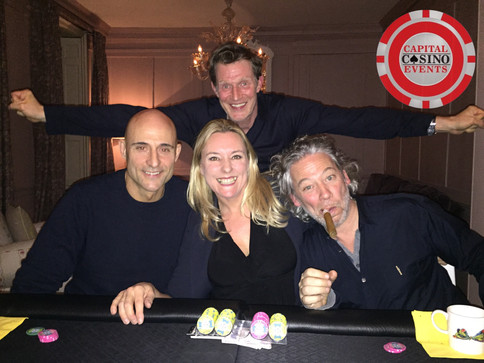 Poker Night with Mark Strong, Jason Flemyng and Dexter Fletcher